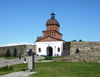Вид на Барнаульскую проездную башню