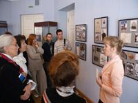 Во время экскурсии на экспозиции