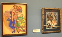 Экспозиция С. Судейкина. Русский символизм, который был показан в Бельгии, теперь в Третьяковской галерее