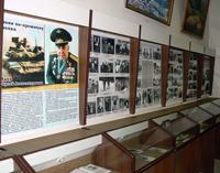 Фрагмент экспозиции о правоохранительных органах  республики