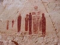 «Наскальные изображения каньона Лошадиная Подкова»