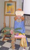 Стул для Сарьяна. Стул для Художника в Сургутском художественном музее
