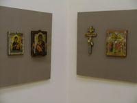 Выставка Иконы романовских писем в Рыбинском музее. 2010 г.