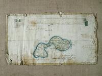 Карта Аглимозерской пустыни 1783 г (до реставрации)