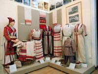 Фрагмент экспозиции Народы Саратовского Поволжья в конце XIX - начале XX века