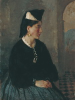 Женщина из Сканно. 1928. Холст, масло