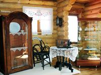 Музей истории амурского казачества. Вид экспозиции