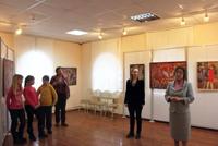 Открытие выставки Мир Рудольфа Тюрина