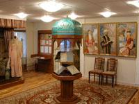 Фрагмент экспозиции. Татарские просветители и Каюм Насыри