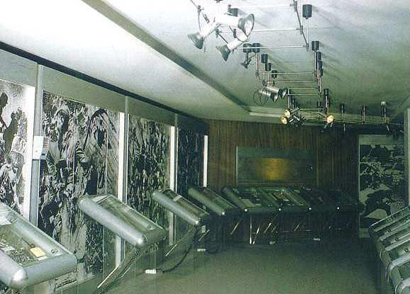 Экспозиции: Фрагмент экспозиции первого этажа. Мемориальный музей немецких антифашистов