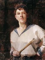 Автопортрет. 1893. Холст, масло.
