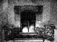 Елена Попова. Свет в окне. Фото-графика.