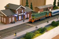 Российские железные дороги в моделях в Политехническом музее
