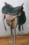 Казацкое седло, периода гражданской войны