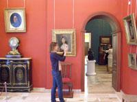 Дорогина Е.А. Фрагмент экспозиция галереи. 2009. Радищевский музей