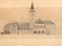 Проект здания Художественного музея.
