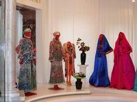 Фрагмент экспозиции выставки.