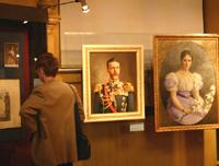 Председатель Исторического музея Сергей Александрович в кабинете председателя