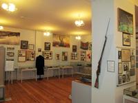 Фрагмент экспозиции Полярный в годы Великой Отечественной войны