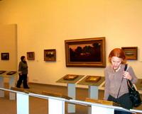 В Русском музее на выставке А.И. Куинджи