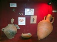Экспозиция в зале археологии