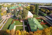 Вид на мемориально-литературный музей Л,Н. Толстого