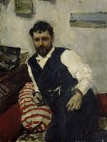 В.А.Серов. Портрет К.А.Коровина. 1891