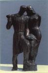 Пигмалион, бронза, 1936 г.