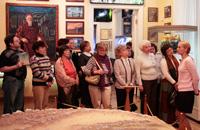 Международный День музеев. Экскурсия по залу Центрально-Азиатской экспедиции Музея имени Н.К.Рериха