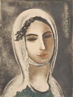 Горянка. А.Шевченко. 1933.