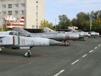 Экспозиция авиационной техники