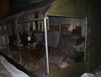Палатка экспедиции И.Д. Папанина. Музей Арктики и Антарктики