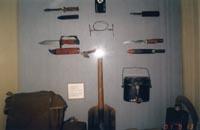 Фрагмент экспозиции зала Воздушно-десантные войска 1946-1991 гг