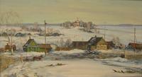 Весной повеяло. Живописное наследие В.Шалаева в Выставочном зале на 1-й Тверской-Ямской
