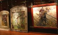 Экспозиции: П. Рыженко возрождает традиции исторической живописи в Историческом музее