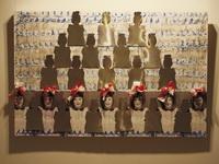 Пехконен Анне - Жестяная девочка 2007 инсталляция живопись