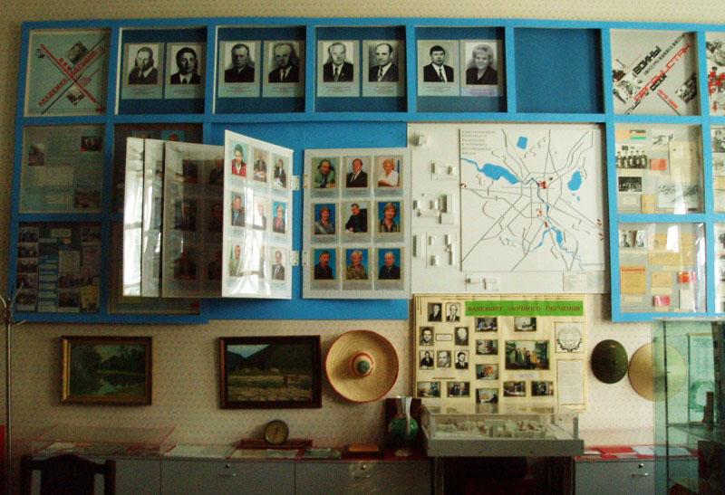 Экспозиции: Вид экспозиции Руководители УрГСХА разных лет