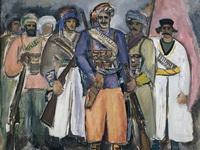 Курды  под Алагезом. А.Чирков. 1931.