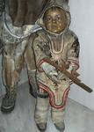 Экспозиции: Вот такого милого эскимоса можно встретить в залах Кунсткамеры