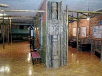 В залах музея Экспозиция городище Иднакар