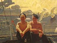 Выставка Война и мир в Курской картинной галерее им. А.А.Дейнеки