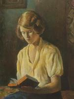 Комсомолка Терехова.Портрет жены