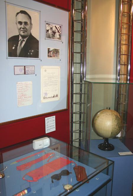 Экспозиции: Первый в космосе в Историческом музее