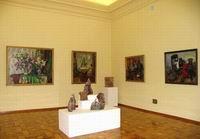 Выставка произведений соискателей премии в области литературы и искусства за 2005 год
