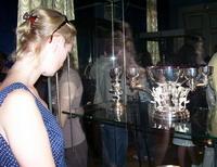 На выставке Серебро звезд, Эрмитаж