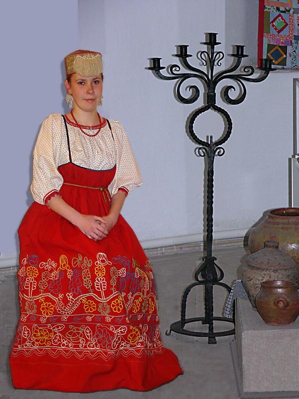Экспозиции: Во городе царёвна... Фото из архива музея.