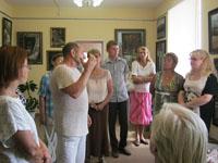Презентация выставки картин художника М.Н. Сотникова