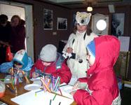 Пингвин с медведем не друзья - их разделяют Полюса. Второй фестиваль детских музейных программ