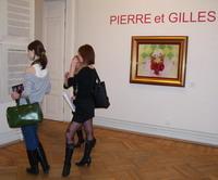 Пьер и Жиль в Мраморном дворце