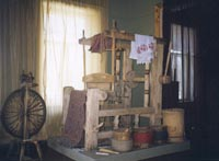 Фрагмент экспозиции Жилище и быт удмуртов. Конец XIX - начало XX вв.